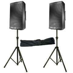 2 x JBL EON612 2000W Powered Active 12